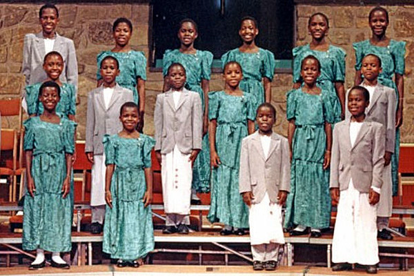 African Children's Choir Performs In The Magic Valley