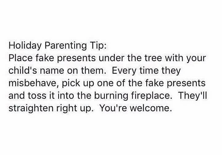 Burn The Presents