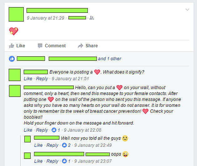 Why Facebook Heart