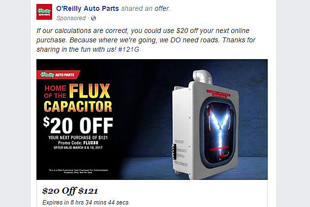 O'Reilly Facebook Plug